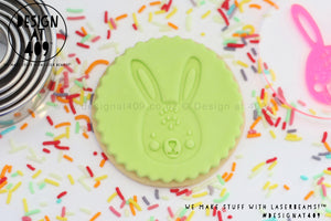 Rabbit Acrylic Embosser Stamp
