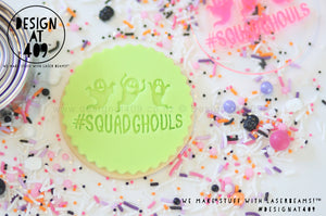 #Squadghouls Acrylic Embosser Stamp