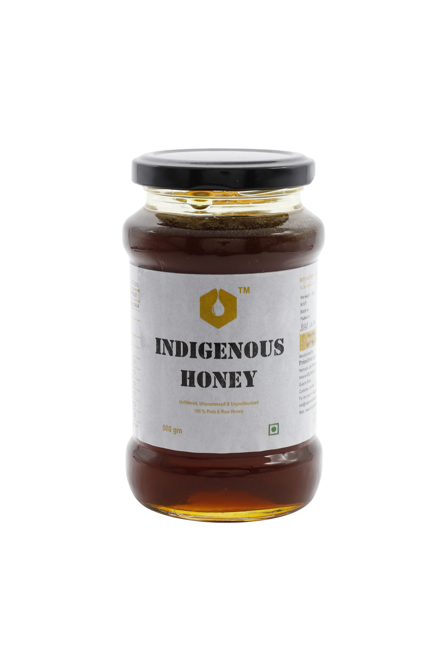 Indigenous honey Raw honey (Alfalfa) - 530 gram
