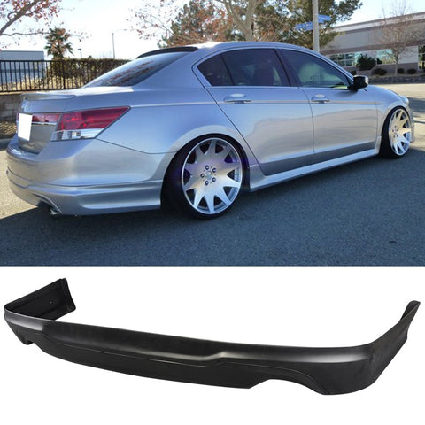2011-2012 Honda Accord 4 Dr 2.4L OEM Rear Bumper Lip Spoiler Polypropylene