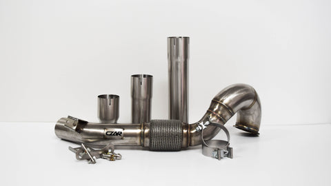 MQB FWD EXHAUST DOWNPIPE (AUDI A3, GOLF/GTI MK7)