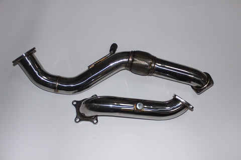 2016+ Honda Civic 1.5T Downpipe & Front Pipe