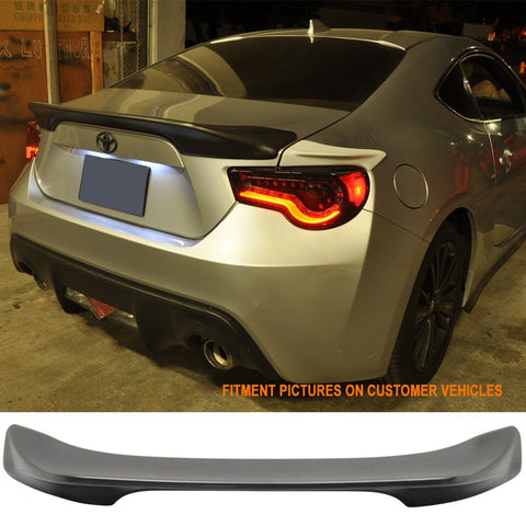 Fits 13-17 Scion FRS & Subaru BRZ ABS TR-D Style Rear Trunk Deck Wing Spoiler