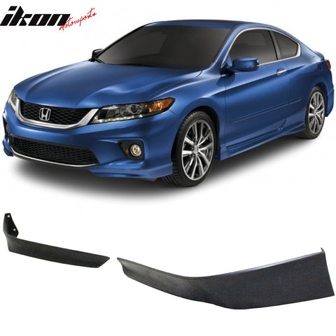Fits 2013 - 2015 Honda Accord Coupe 2Dr HFP Style 2 Piece Front Lip Underbody Spoilers