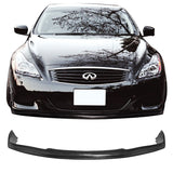 Fit For 08-14 Infiniti G37 Coupe EVO Style Front Bumper Lip Bodykit