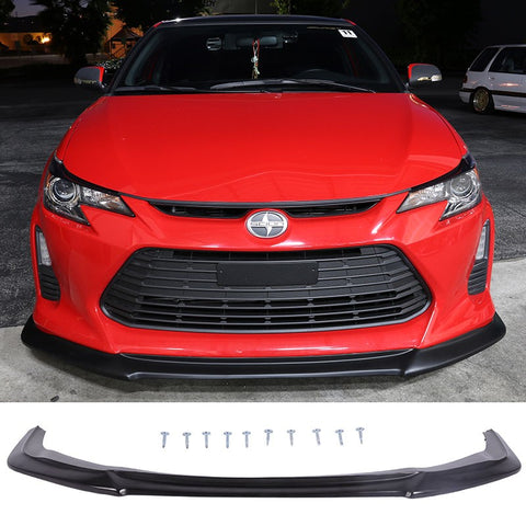 2014-2015 Scion tC Sedan 4Dr 4Door GT Front Bumper Lip Polyurethane