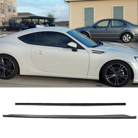 2013-2019 Scion FRS Subaru BRZ GT86 FT86 CS Side Skirts Poly-Urethane
