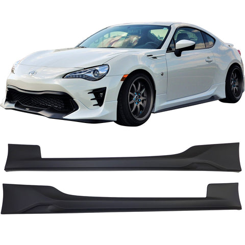 Fits 17-19 Toyota 86 Side Skirts Pair LH RH - PP