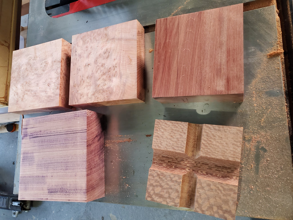 Some new chunks of wood, about to reach their destiny!