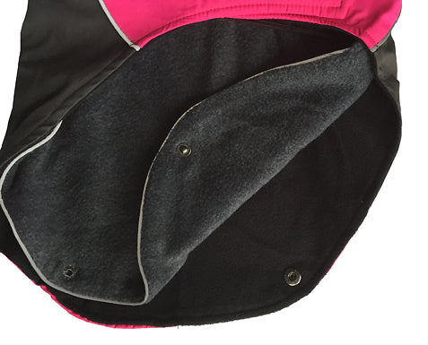 Removable dual layer of fleece