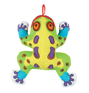 Cracklers Frog cat toy