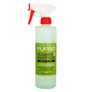 PupGo Cleaner & Sanitiser Ready-to-Use Spray 500ml
