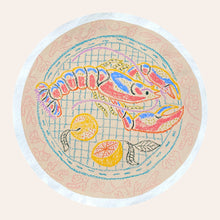 Load image into Gallery viewer, Catch of the Day with Lemons | Camilla Perkins | Original Artwork | Partnership Editions