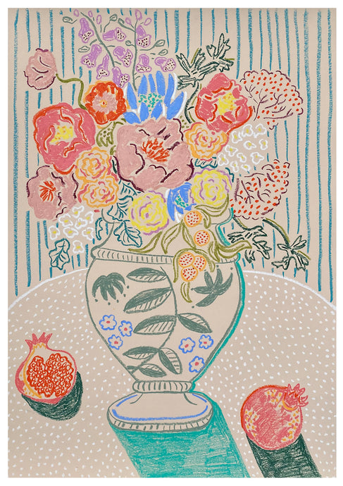 Flowers from Karpathos | Camilla Perkins | Original Artwork | Partnership Editions