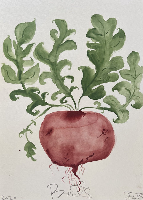 Beets I | Julianna Byrne | Original Artwork | Partnership Editions