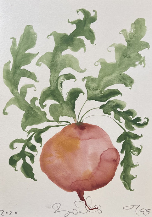 Beets II | Julianna Byrne | Original Artwork | Partnership Editions