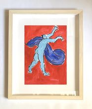 Load image into Gallery viewer, Framed| Blue Man | Isabella Cotier | Partnership Editions