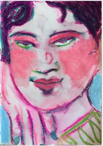 Blusher | Chica Seal | Watercolour and Crayon | Partnership Editions