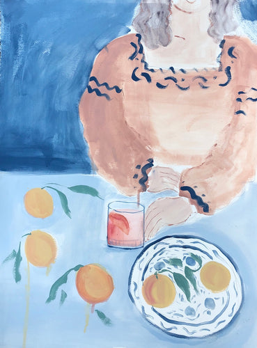 Campari Table | Julianna Byrne | Original Artwork | Partnership Editions