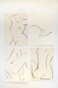 Alexandria Coe | Extra Large Studio Nudes | Islington Square | Original Artworks| Partnership Editions