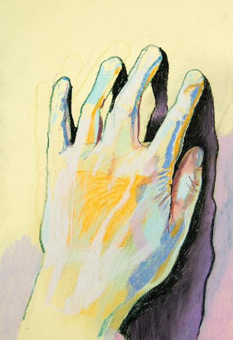 Hand 1 | Hester Finch | Original Artwork | Partnership Editions