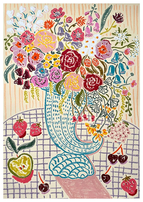 Flowers for Midsummer | Camilla Perkins | Original Artwork| Partnership Editions