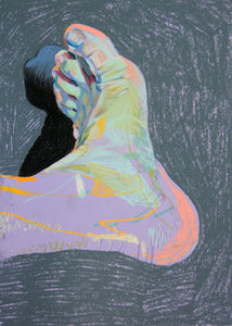 Foot 1 | Hester Finch | Soft Pastel on Paper | Partnership Editions