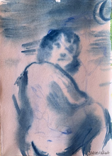 Load image into Gallery viewer, Goya's Giant II | Chica Seal | Watercolour on Paper | Partnership Editions