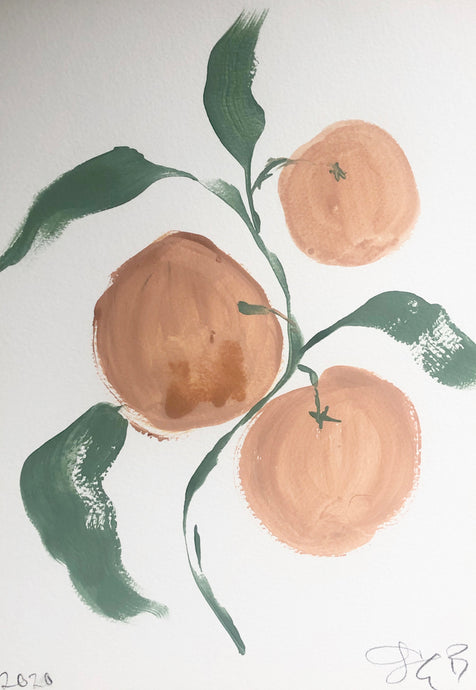 Grapefruits | Julianna Byrne | Original Artwork | Partnership Editions