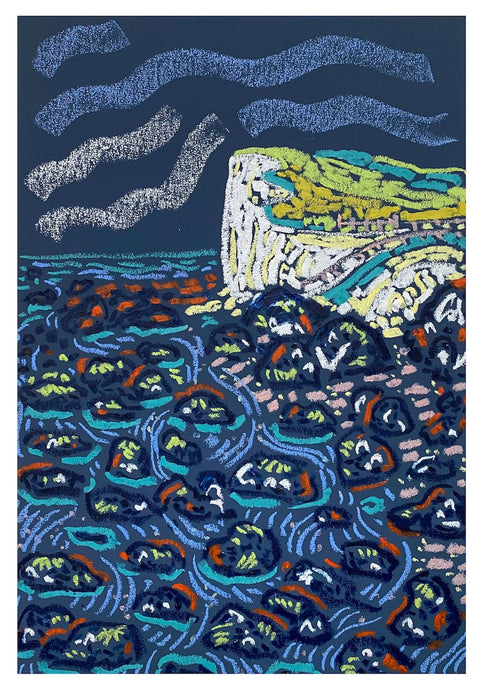Hope Gap Rockpools | Camilla Perkins | Original Artwork| Partnership Editions