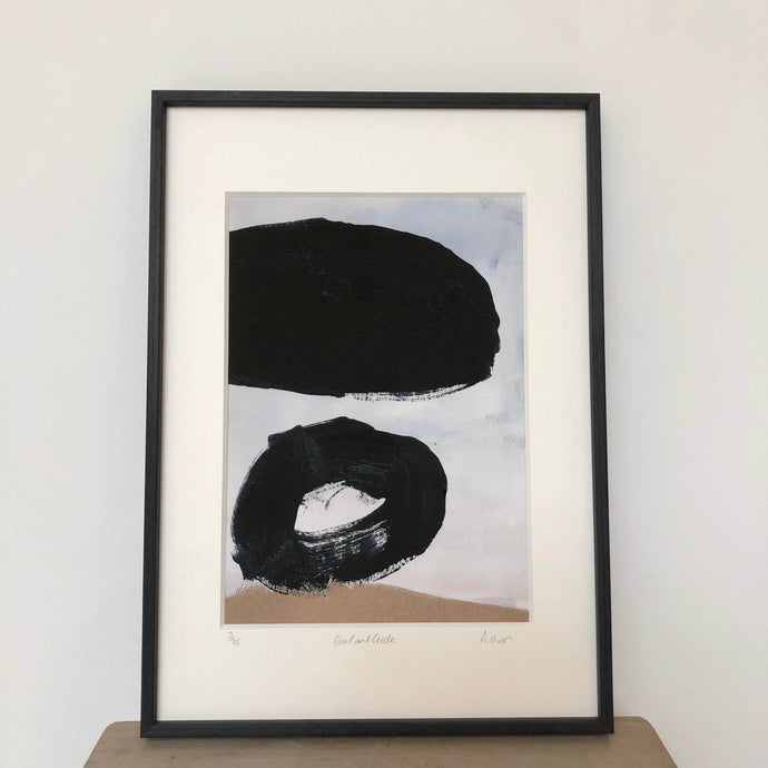 Oval & Circle Print | David Hardy | Giclée Print with Mount | Partnership Editions
