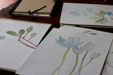 Quiet Painting Series | Botanical Art