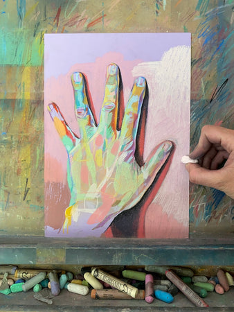 Soft Pastels | In the Studio