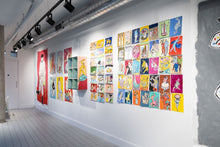 Load image into Gallery viewer, Colourful art exhibition at Islington Square | Isabella Cotier | Partnership Editions
