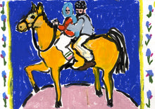 Load image into Gallery viewer, Horseback | Isabella Cotier | Original Artwork | Partnership Editions