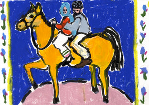 Horseback | Isabella Cotier | Original Artwork | Partnership Editions