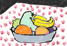 Load image into Gallery viewer, Mint Potato in the Fruit Bowl | Isabella Cotier | Original Artwork | Partnership Editions