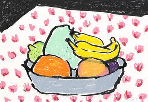 Mint Potato in the Fruit Bowl | Isabella Cotier | Original Artwork | Partnership Editions