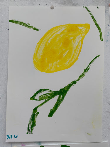 Lemon XIV | Jonathan Schofield | Original Artwork | Partnership Editions