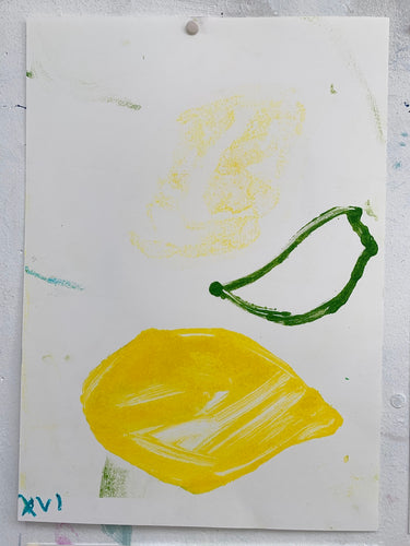 Lemon XVI | Jonathan Schofield | Original Artwork |Partnership Editions