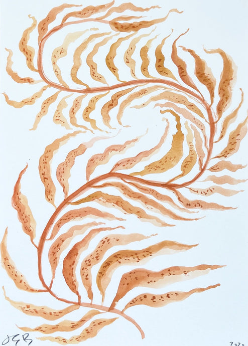Kitsune Fern | Julianna Byrne | Gouache on Paper | Partnership Editions