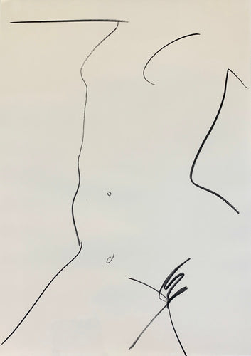 Large Studio Nude 2 | Alexandria Coe | Original Artwork | Partnership Editions