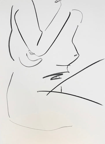 Large Studio Nude 7 | Alexandria Coe | Original Artwork | Partnership Editions