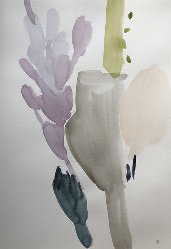 Flowers in a Ceramic Vase I
