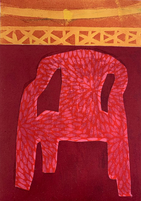 Mexican Plastic Chair | Rose Electra Harris | Etching | Partnership Editions
