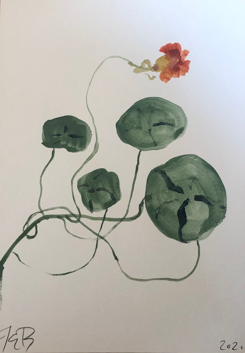 Nasturtium II | Julianna Byrne | Original Artwork