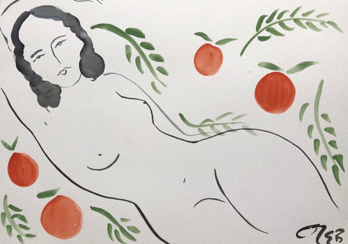 Nymph Amongst Peaches