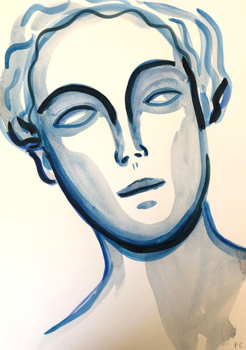 Only Blue Eyes | Frances Costelloe | Original Artwork | Partnership Editions