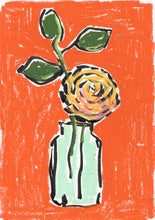 Load image into Gallery viewer, Orange Rose