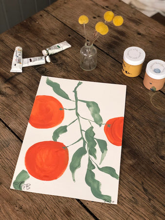 Oranges | Julianna Byrne | Original Artwork | Partnership Editions